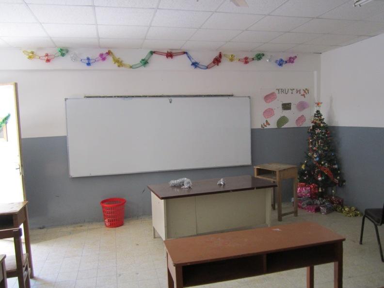 wasn't it a black board when we were around :)