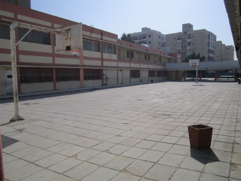 our basketball ground