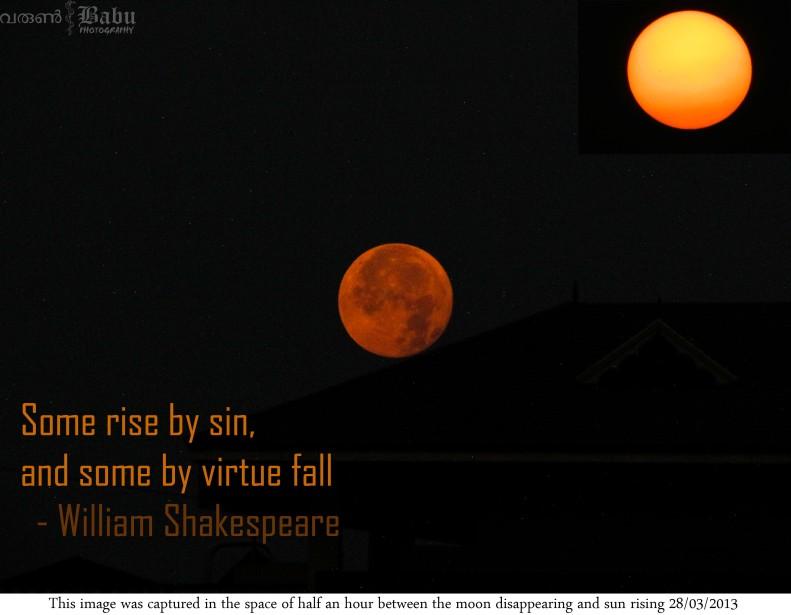sun vs moon