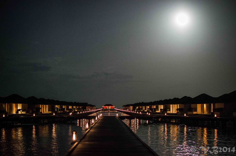 Maldives Paradise Island Water Villa