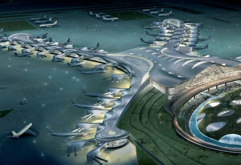 The Abu Dhabi International Airport